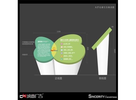 重庆小米熊医院标识标牌设计方案欣赏